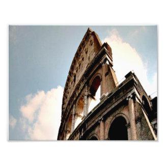 Roman Coliseum Art Photo
