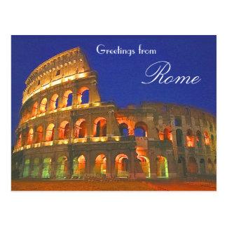 Roman Coliseum Postcards