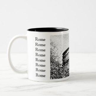Roman Coliseum, Rome Italy Two-Tone Mug