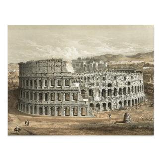 Roman Coliseum Vintage Art Postcard