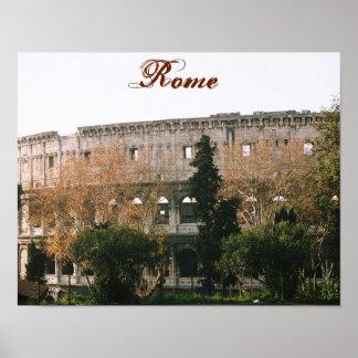"""Roman Colliseum"" Poster"
