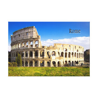 Roman Colosseum Amphitheater Customized Canvas Print