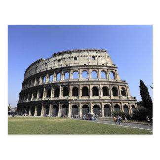 Roman Colosseum Lazio, Italy Postcard