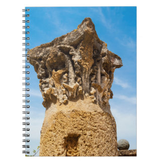 Roman Column Ruins Spiral Notebook