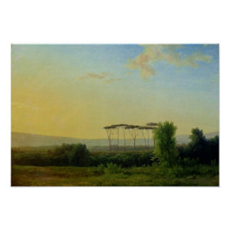 Roman Countryside Poster