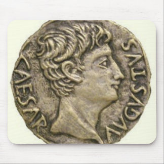 Roman Denarius Coin Mouse Pad