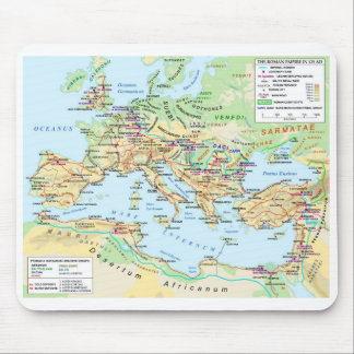 Roman Empire Map Mousepad