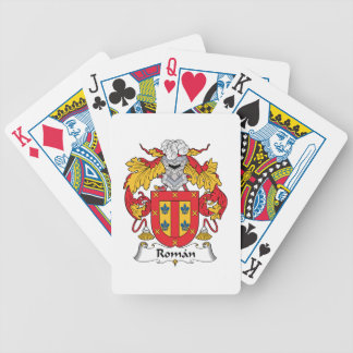 Roman Family Crest Bicycle Playing Cards