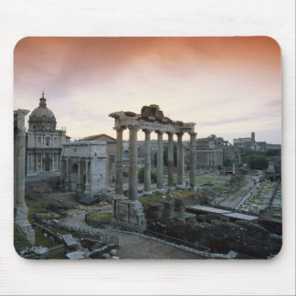Roman Forum at dawn Mouse Pad