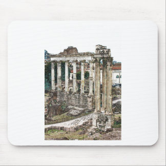 Roman Forum in Chalk Mouse Pad