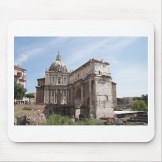 Roman Forum in Rome, Italy Mouse Pad