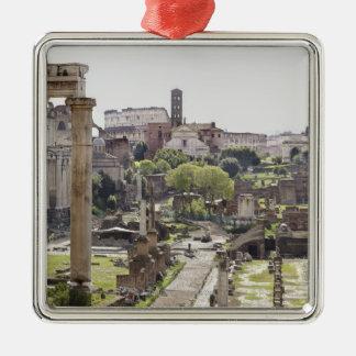 Roman Forum Metal Ornament