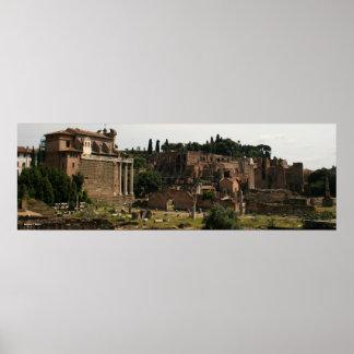 Roman Forum Panorama Poster