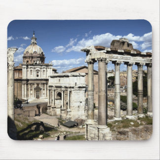 Roman Forum Rome Italy Mouse Pads