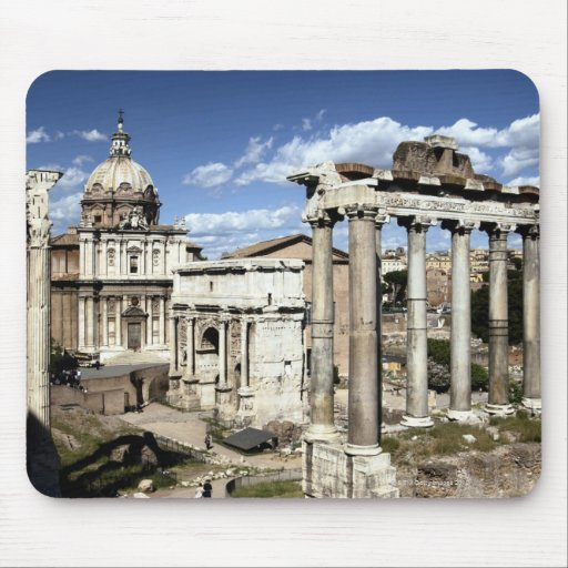 Roman Forum, Rome, Italy Mouse Pads