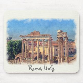 Roman forum ruins Mousepad