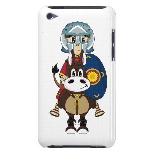 Roman Gladiator on Horse itouch Case iPod Touch Case-Mate Case