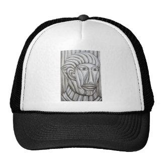 Roman Gladiator (portrait expressionism) Hat