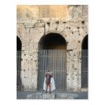 Roman Gladiator Post Card