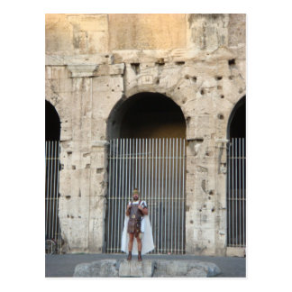 Roman Gladiator Postcard