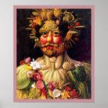 Roman God of the Seasons by Giuseppe Arcimbolodo Print