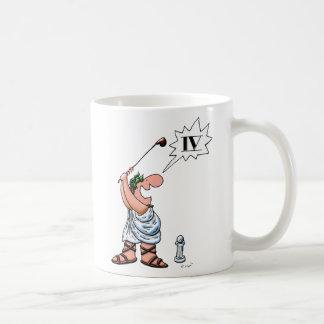 Roman Golfer--IV Coffee Mug