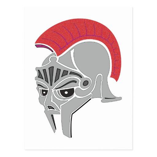 Roman helmet novel helmet post cards