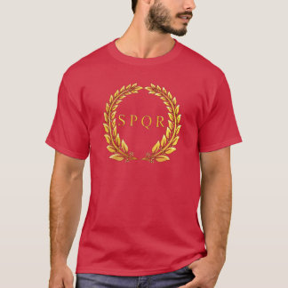 Roman Imperial SPQR Laurel T-Shirt