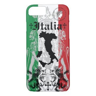 roman italy crown boot flag italia italian lion iPhone 8/7 case