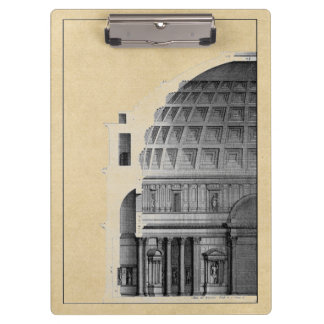 Roman Pantheon Classical Architecture Clipboard