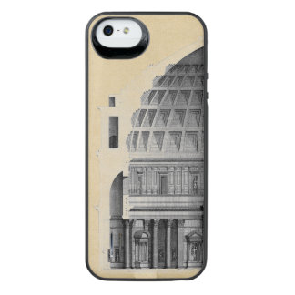 Roman Pantheon Classical Architecture iPhone SE/5/5s Battery Case