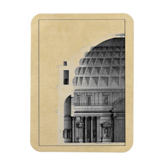 Roman Pantheon Classical Architecture Magnet