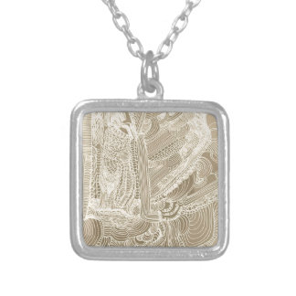 Roman Princess Silver Plated Necklace