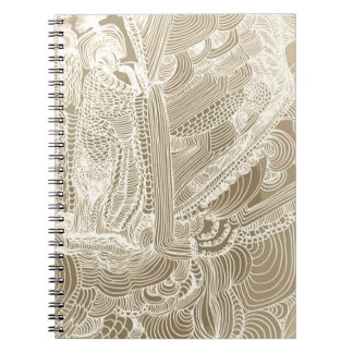 Roman Princess Spiral Notebook