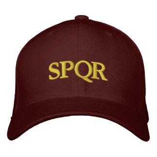 Roman Republic SPQR Embroidered Cap