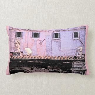 Roman Roof Fresco Pillow