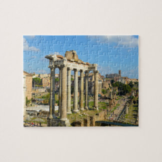Roman Ruins in Rome Italy Jigsaw Puzzle