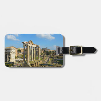 Roman Ruins in Rome Italy Luggage Tag