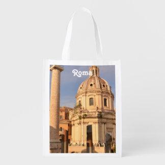 Roman Ruins Reusable Grocery Bag