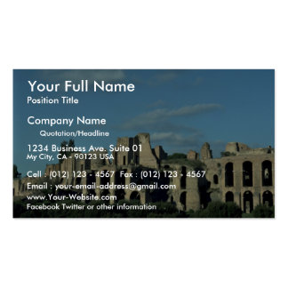 Roman ruins, Rome, Italy Business Card Template