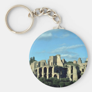 Roman ruins, Rome, Italy Keychains