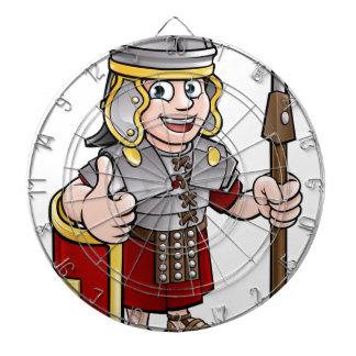 Roman Soldier Cartoon Character Dartboard