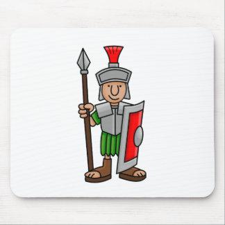 roman soldier mouse pad
