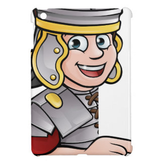 Roman Soldier Pointing iPad Mini Covers