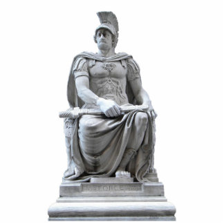 Roman Soldier Sculpture Standing Photo Sculpture