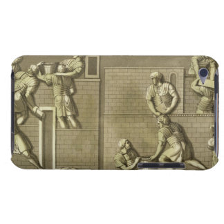 Roman soldiers building a fort, plate 21 from 'Le Case-Mate iPod Touch Case