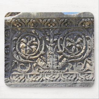 Roman stone mouse pad