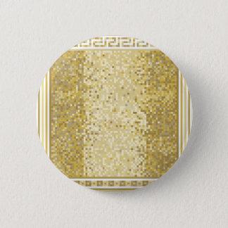 Roman style background 6 cm round badge