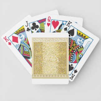Roman style background bicycle playing cards