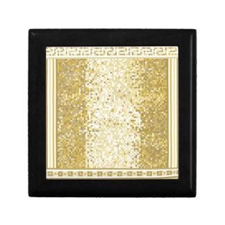 Roman style background gift box